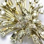 Brož ze zlata s brilianty - Karel Hendrych